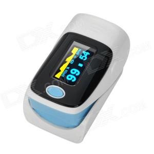 Medidor de batimento cardíaco e nível de oxigênio no sangue